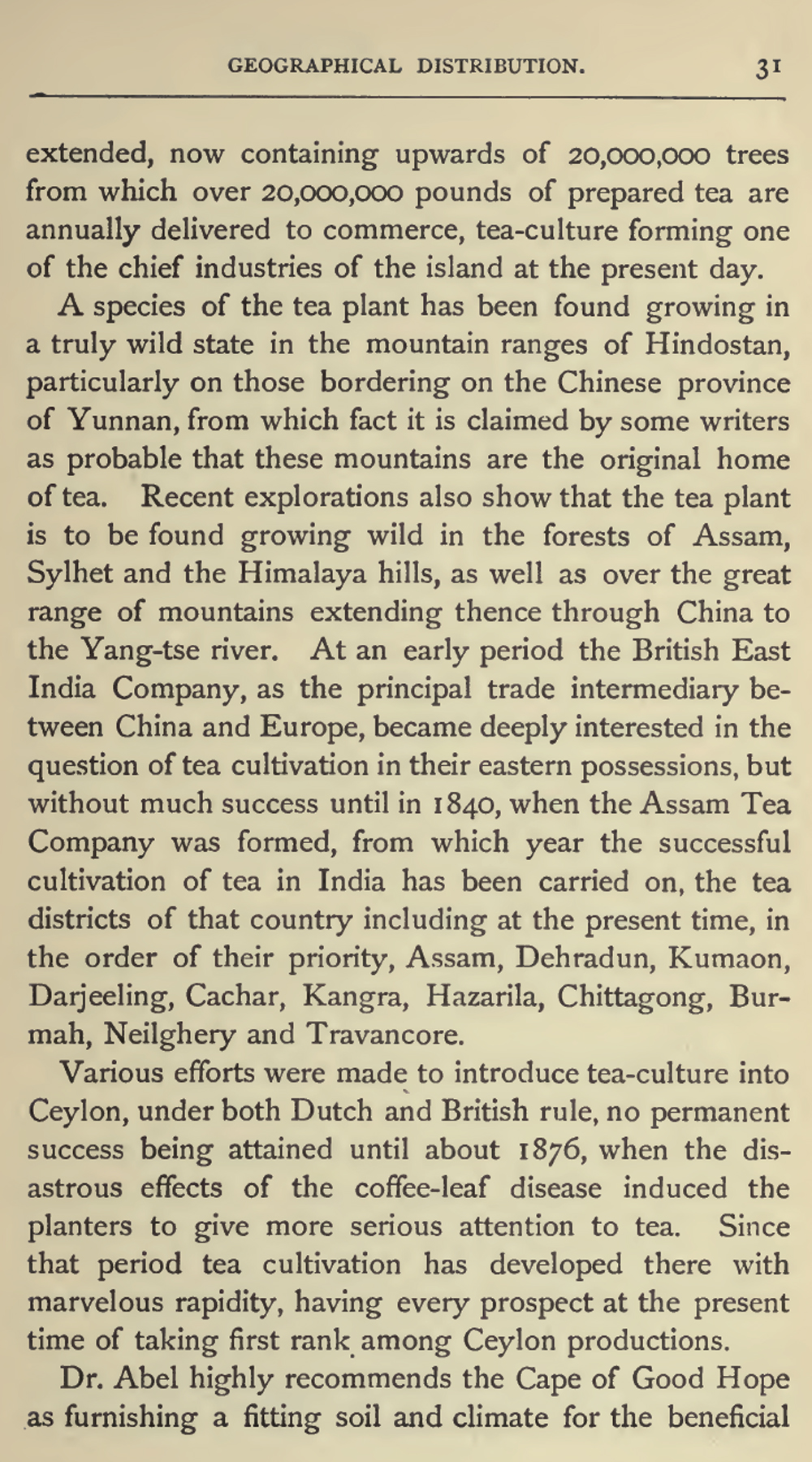 Tea History and Mystery Walsh 1892 pg 31