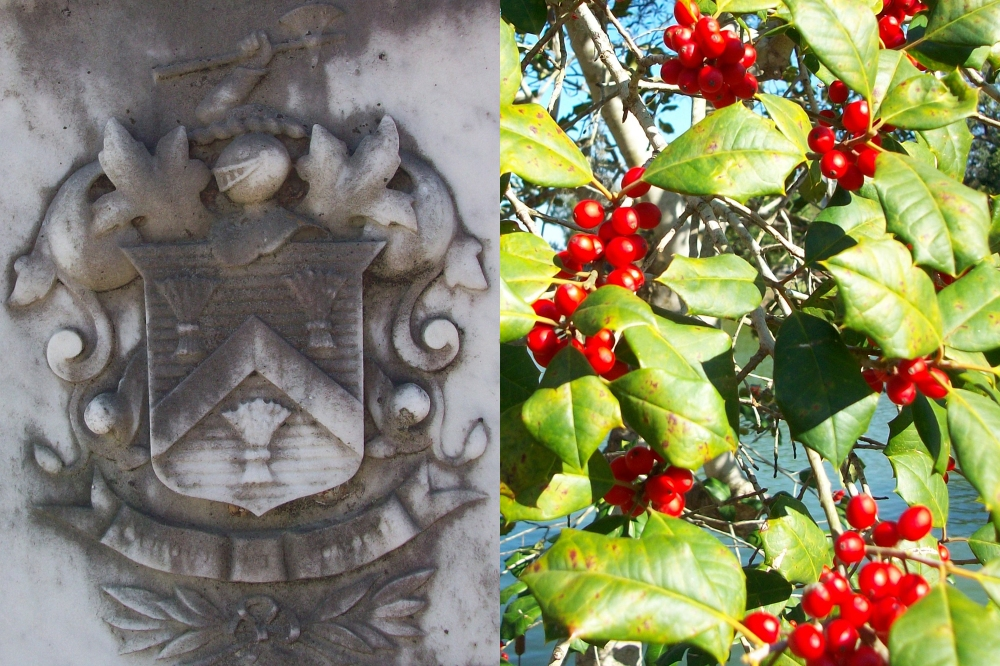 Heyward Red American Holly and Seal copy