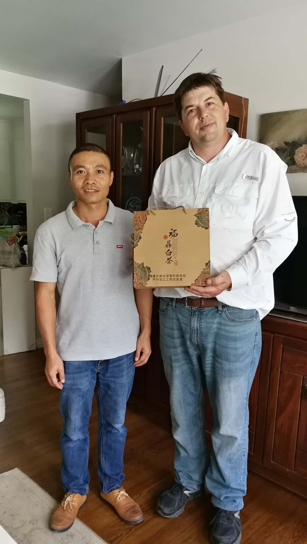 Zhilong and Fuding White tea presentation